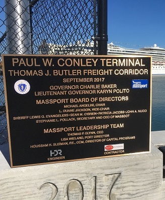 SPS Work at Conley Terminal Featured at Dedication of Butler Memorial Park